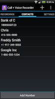 Screenshot of Call + Voice Recorder Pro