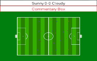 Screenshot of Football Simulator