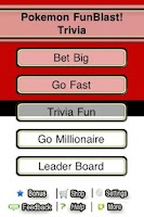 Screenshot of Pokemon FunBlast! Trivia LT