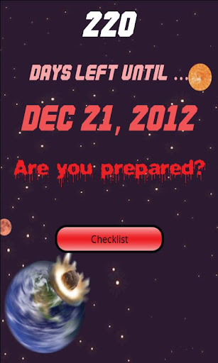 【免費工具App】2012 Countdown and Checklist-APP點子