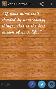 Zen Quotes & Proverbs Pro (禪) - screenshot