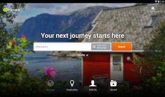 Screenshot of minube: Your travel app