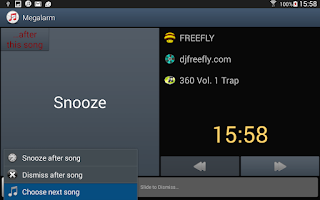 Screenshot of Music Alarm Megalarm