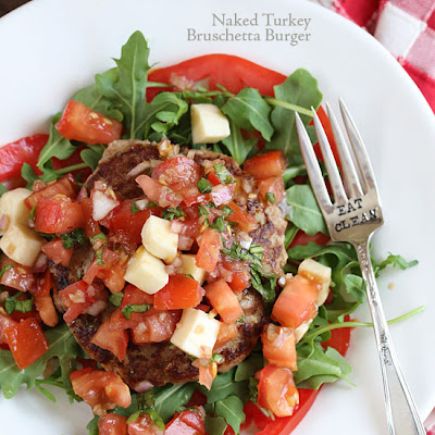 Naked Turkey Bruschetta Burger