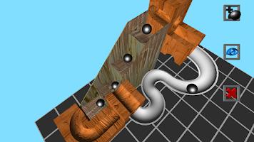 Screenshot of Marble Run 3D