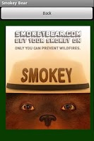 Screenshot of Smokey Bear