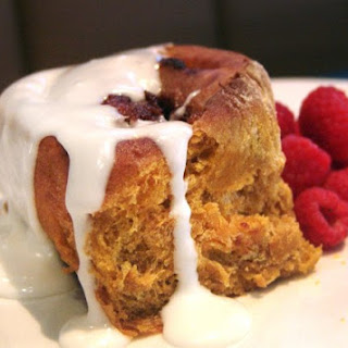 Pumpkin Ale Cinnamon Roll