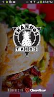 Screenshot of Chando's Tacos