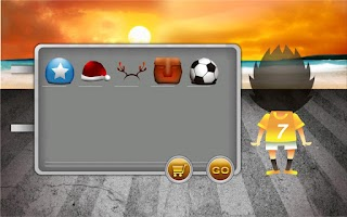 Screenshot of Header Soccer HD (for Tablet)
