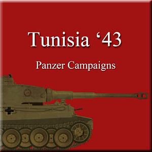 Cover art Panzer Campaigns - Tunisia 43
