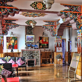 Colourful interiors by Ram Ramkumar - Novices Only Objects & Still Life ( colorful architecture, interiors, architectural detail, architecture, sikkim, colourful interiors )