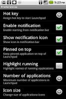 Screenshot of Launchpad