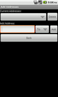Screenshot of SpamGrabber For Android