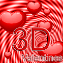 3D Valentines Live Wallpaper icon