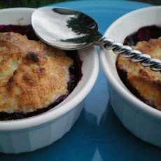 Blueberry Cobblers for Two - 4 Ww Points