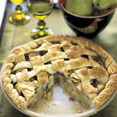 Lattice Pie with Pears and Vanilla Brown Butter