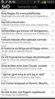 Screenshot of SvD Näringsliv