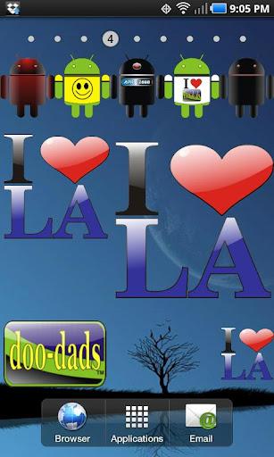 I Love LA doo-dad