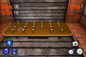 Screenshot of Ring Toss 3D Tap Touch Flick