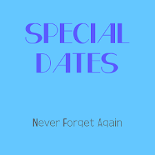 Special Dates
