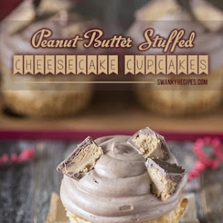 Peanut Butter Cheesecake Cupcakes