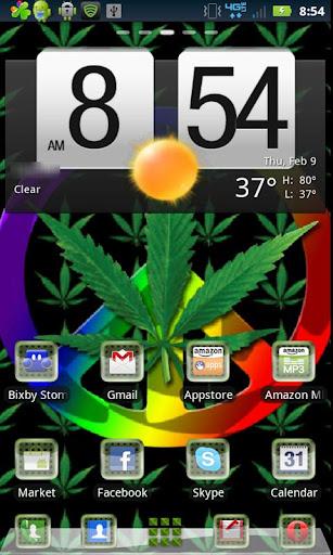 Marijuana Peace Theme