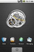 Screenshot of Tourbillon Clock Widget 4x3