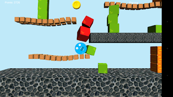 Screenshot of Blueix monster run