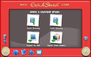 Screenshot of Etch A Sketch