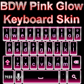Pink Glow Keyboard Skin icon