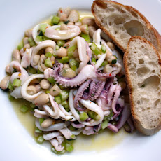 Squid and White Bean Salad