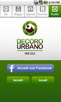 Screenshot of WeDU! Decoro Urbano