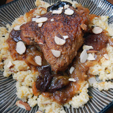 Dreaming of Marrakesh (Braised Chicken with Couscous)