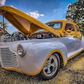 Lake Side Cruisin' by Ron Meyers - Transportation Automobiles