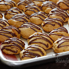 Pumpkin Spice Cookies with Chocolate Glaze
