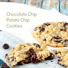 Chocolate Chip Potato Chip Cookies