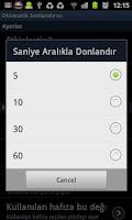 Screenshot of Otomatik Sonlandırıcı