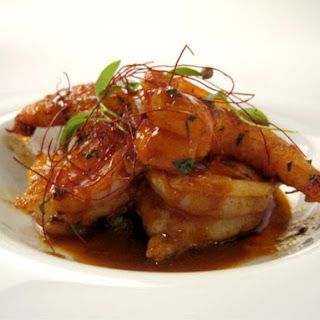 Shrimp Alhinho Recipe from Aldea