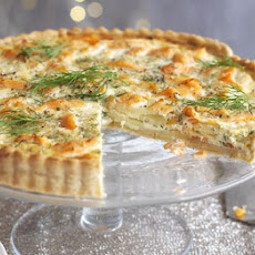 Salmon, Dill & Potato Tart