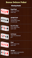 Screenshot of Bonus Deluxe Poker