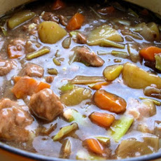 English Beef Stew and Dumplings