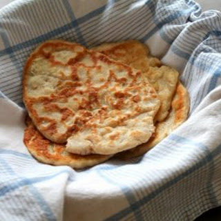 Greek Yogurt Flatbread