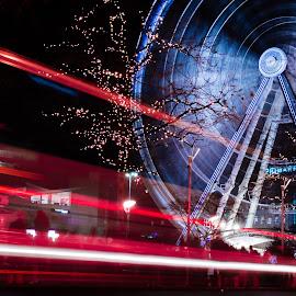 street light by Shakir Sharif - Abstract Light Painting ( uk, firework, 2015, nikon d7100, newyear, manchester,  )