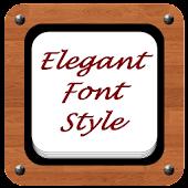 Free Download Elegant Font Style APK for Samsung