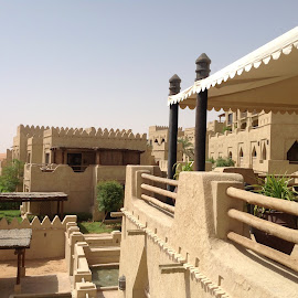 Qasr al sarab by Mary Dayton - Buildings & Architecture Office Buildings & Hotels