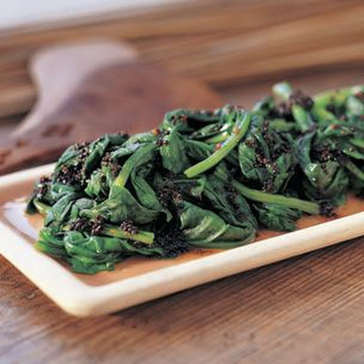 Spiced Spinach (Black Mustard Seed)