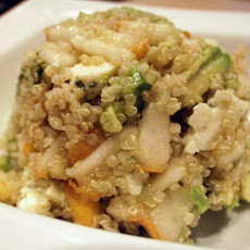 Pear and Avocado Quinoa Salad