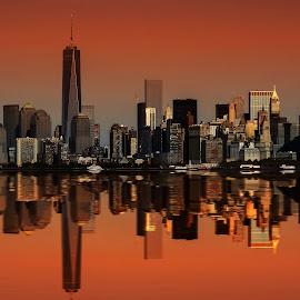 new york by Christian Heitz - City,  Street & Park  Skylines