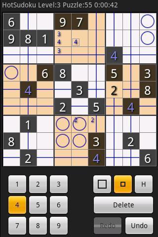 Hot Sudoku 熱辣數獨