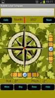 Screenshot of Bubble Level Compass
